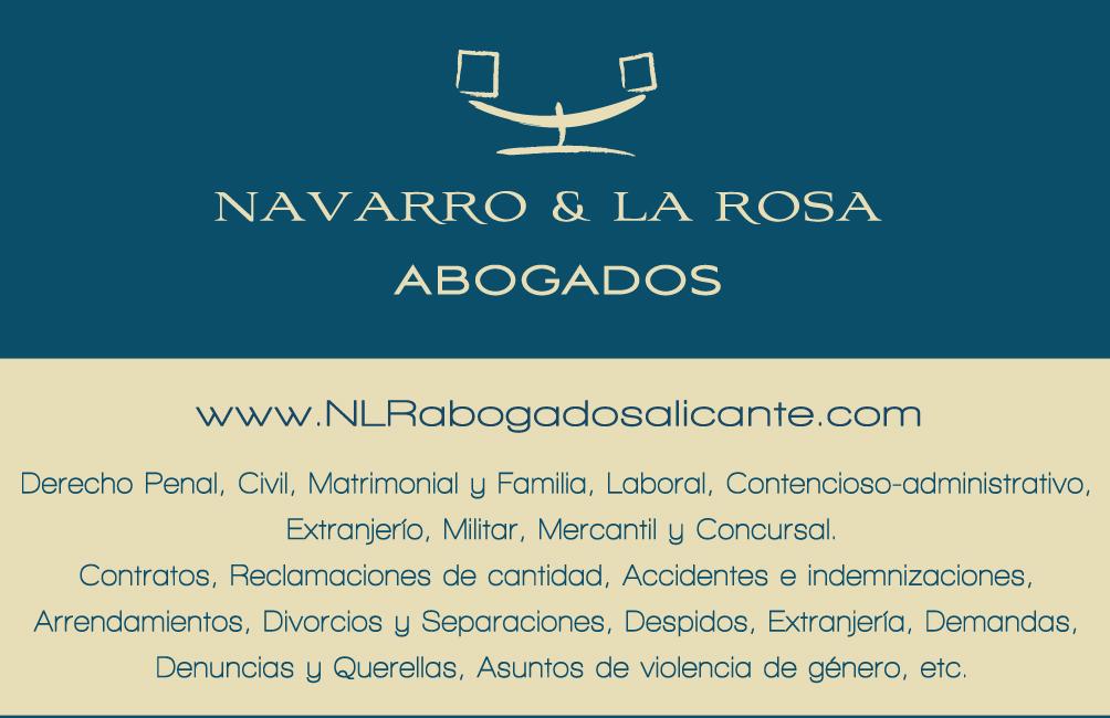 Despacho Navarro & La Rosa Abogados en Alicante