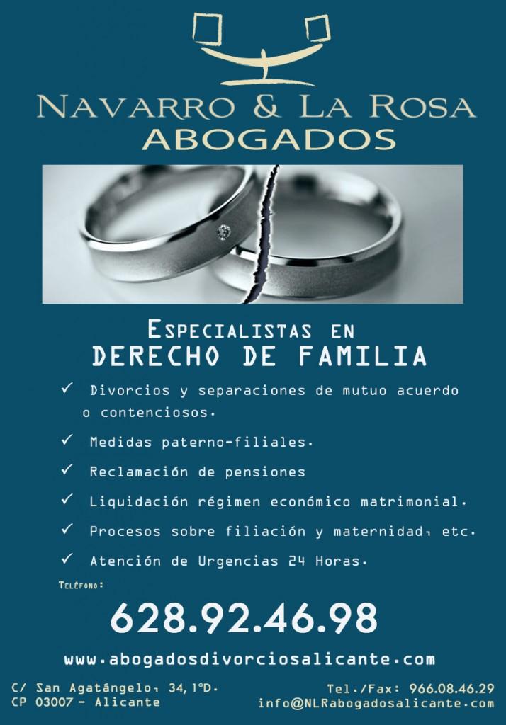 Navarro & La Rosa Abogados Alicante - Especilistas en Derecho de Familia