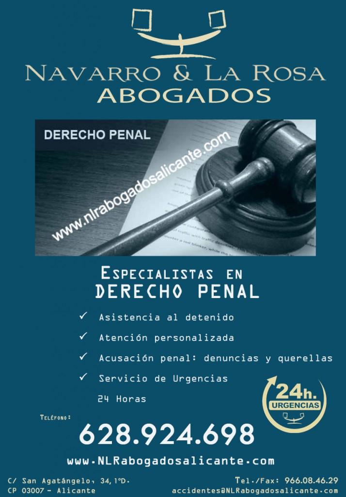 Abogados en Alicante, Derecho Penal